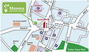 map to manna store